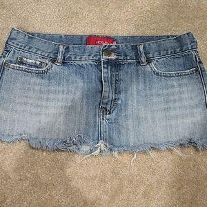 Low Rise Hollister Mini Skirt